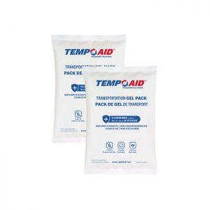 antimicrobial transportation gel pack