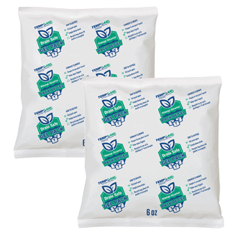 earthwise drain freindly gel pack square