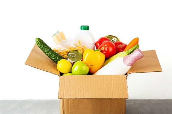 shipping food