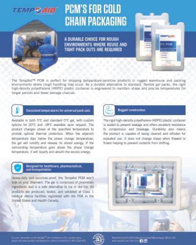 PCM flyer cover